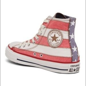 """Converse Shoes - High-top """"old glory"""" American flag Converse 359127b71591"""